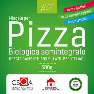 MIX PIZZA GLUTEN FREE SPIGABUONA