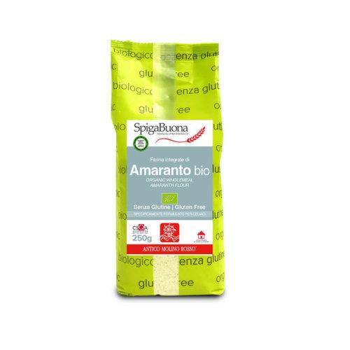 farina integrale di amaranto bio Spigabuona