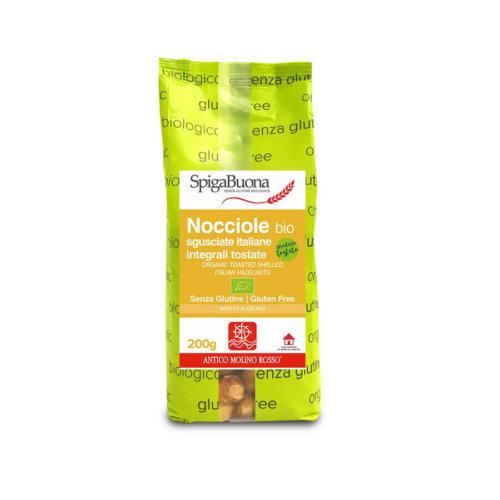 nocciole tostate integrali bio Spigabuona