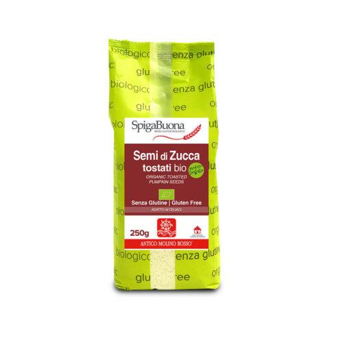 semi di zucca tostati bio Spigabuona