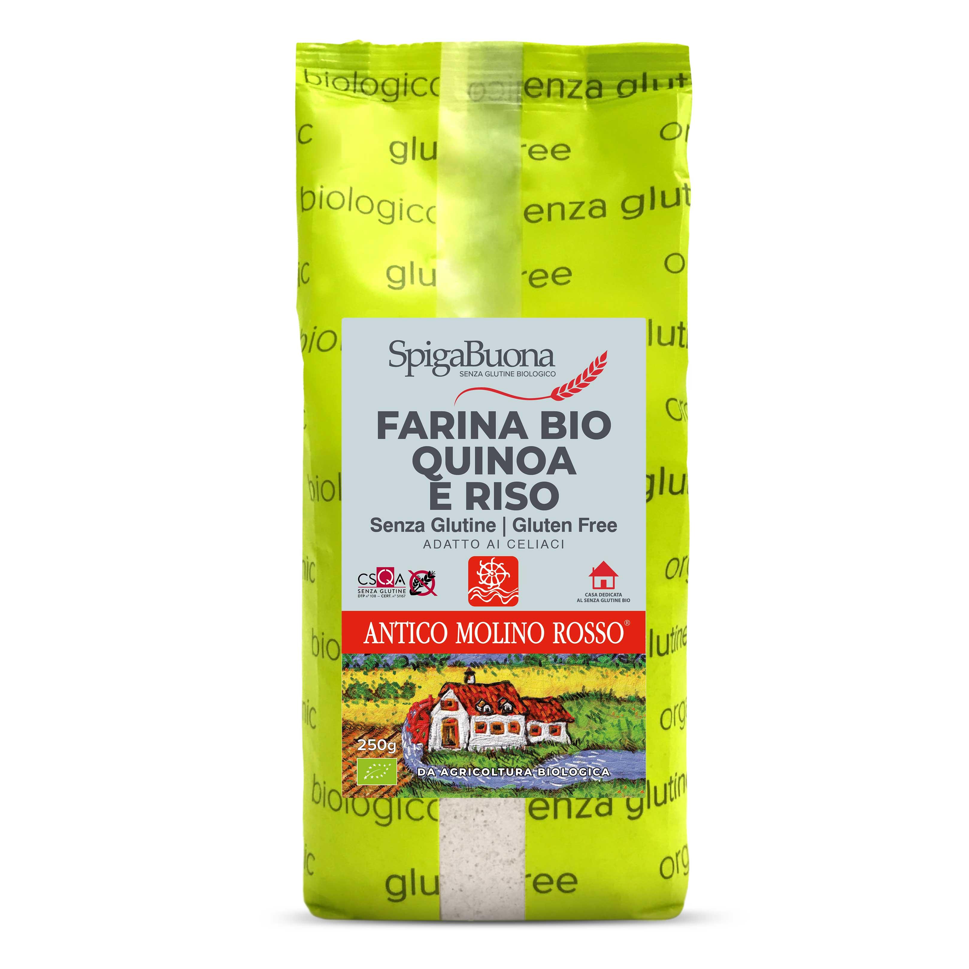 Farina Bio quinoa e riso - senza glutine